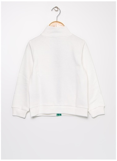 Benetton Sweatshirt Krem